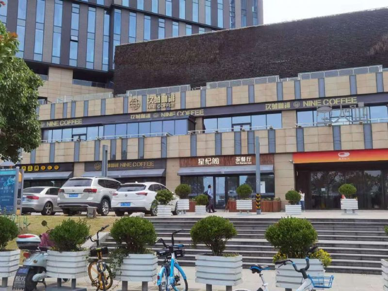 松江九亭中心路咖啡餐饮棋牌店转让实景图片